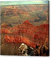 Red Vista Canvas Print