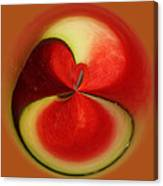Red Watermelon Canvas Print