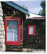 Red Windows Canvas Print