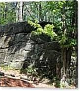 Redemption Rock Princeton Massachusetts Canvas Print