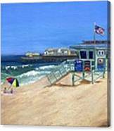 Redondo Beach Lifeguard  Canvas Print