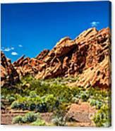 Redstone Picnic Area Canvas Print
