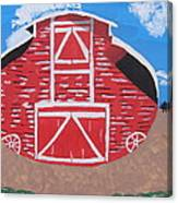 Redwood Farm Barn Canvas Print