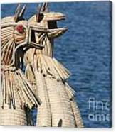 Reed Boat Lake Titicaca Canvas Print
