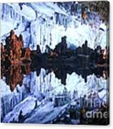 Reed Flute Cave Guillin China Canvas Print