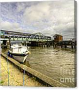 Reedham Swing Bridge  Canvas Print