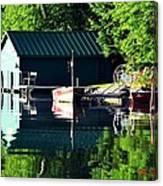 Reflecting Lake Canvas Print