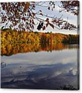 Reflected Autumn Colors Canvas Print