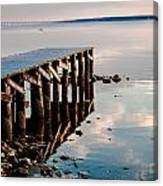 Reflected Pier Canvas Print