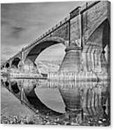 Reflecting Fernbridge Canvas Print