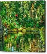 Reflecting On The Day Canvas Print