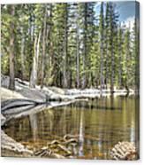 reflecting pond 2 Carson Spur Canvas Print
