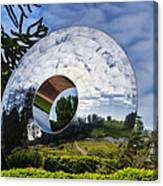 Reflecting The Countryside Canvas Print