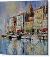 Reflection  -  St.tropez - France Canvas Print