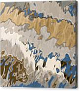 Reflection Abstraction- Two Canvas Print