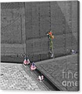 Reflection At The Wall II Canvas Print