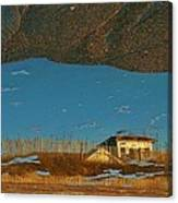 Reflection Flipped 14 10/31 Canvas Print