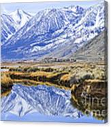 Reflection From Genoa Ln Canvas Print