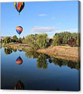 Reflection In Prosser Canvas Print