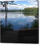 Reflection Lake Trail Canvas Print