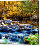 Reflection Of Autumns Natural Beauty Canvas Print