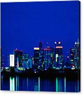 Reflection Of Dallas Canvas Print