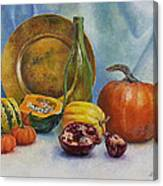Reflection Of Fall Canvas Print