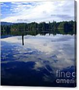 Reflection Of Natures Beauty Canvas Print