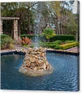 Reflection Pond At Ravine Gardens State Park Canvas Print