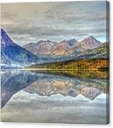 Reflections Along The Seward Highway - Alaska Canvas Print