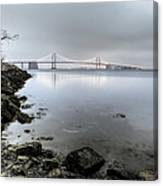 Reflections At Little Bay Canvas Print