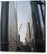 Reflections At The 9/11 Museum Canvas Print