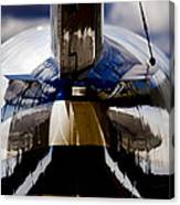Reflections From The Back Canvas Print