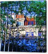 Reflections In The City Canvas Print