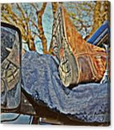 Reflections Of A Cowboy's Nap Canvas Print