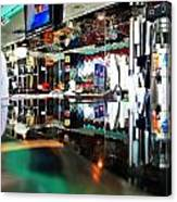 Reflections Of A Diner 3 Canvas Print