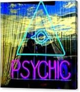Reflections Of A Psychic Canvas Print