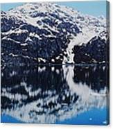 Reflections Captured In Alaska # 1 Canvas Print
