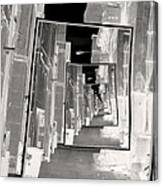 Reflections Of An Infrared Alley Canvas Print