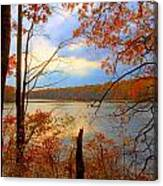Reflections Of Autum Canvas Print