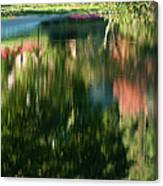 Reflections Of Colours  Canvas Print