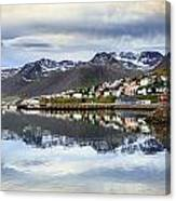 Reflections Of Iceland Canvas Print