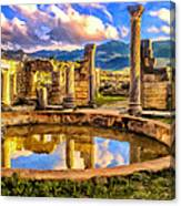 Reflections Of Past Glory Canvas Print