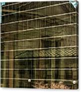 Reflections Of Union Station Canvas Print