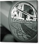 Reflections Of Vespa Canvas Print