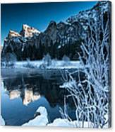 Reflections Of Yosemite Canvas Print