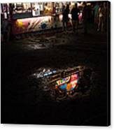 Reflections On A Mid-summer Night Canvas Print