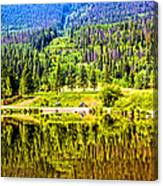 Reflections On A Summer Day - Vail - Colorado Canvas Print