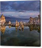 Reflections On Mono Lake 1 Canvas Print