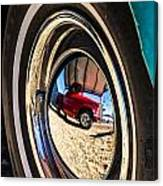 Reflections On Route 66 Canvas Print